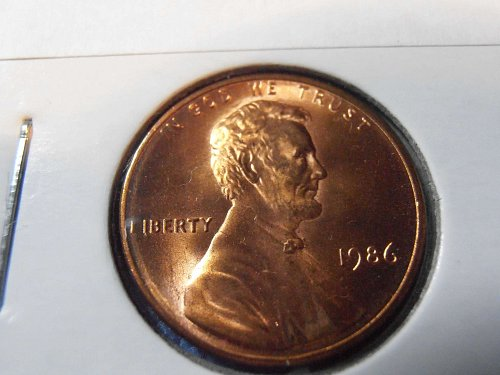 1986 P LINCOLN CENT