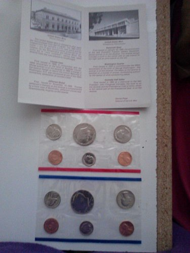 1984 Uncirculated Mint Proof Set (With P&D Marks)