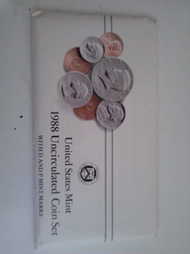 1988 Uncirculated Mint Proof Set (With P&D Marks)