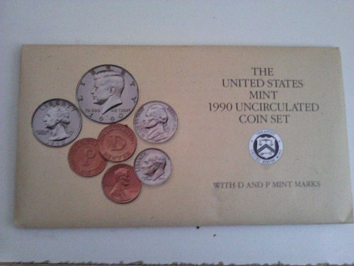 1990 Uncirculated Mint Proof Set (With P&D Marks)