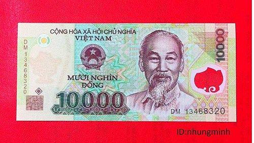 VIET NAM DONG-10000 DONG-TEN THOUSAND VIETNAM BANKNOTE