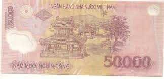50000 DONG-FIFTY THOUSAND-VIETNAM BANKNOTE POLYMER