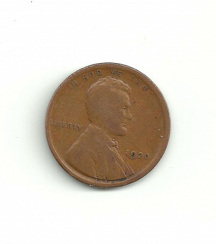 1920 Wheat Penny