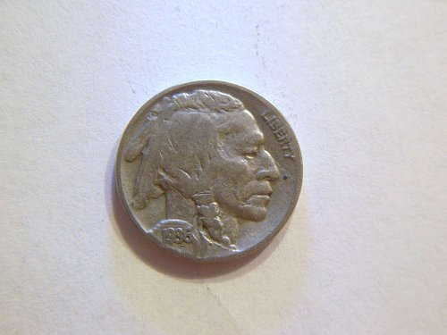 1936-P Buffalo Nickel