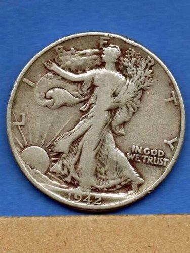 1942 W.L. Silver Half Dollar US Coin Money