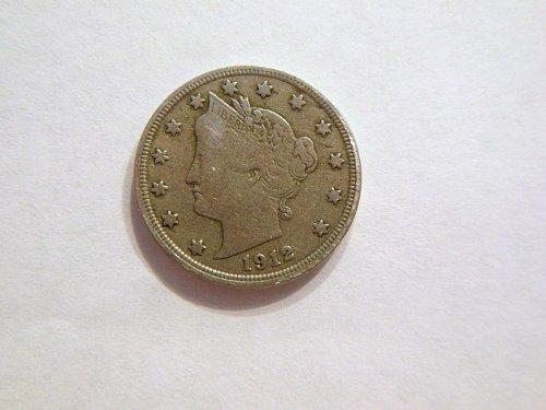 1912-P Liberty V Nickel