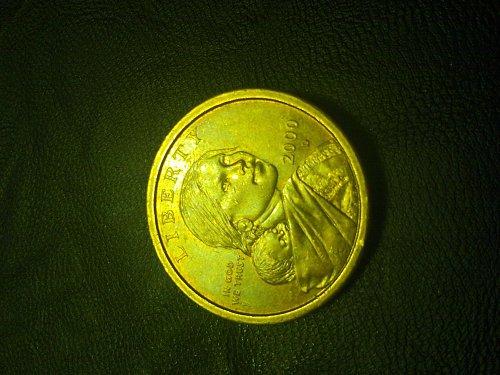 2000 d sagagawea gold dollar