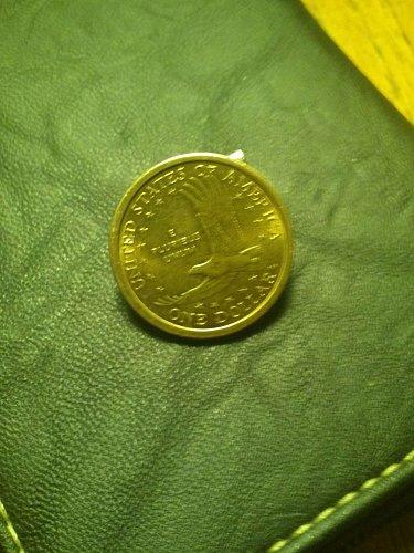 2000p sacagawea gold dollar