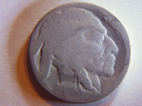 1916-S Buffalo Nickel Better Date Coin
