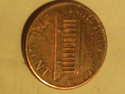 1992 d lincoln memorial small cent