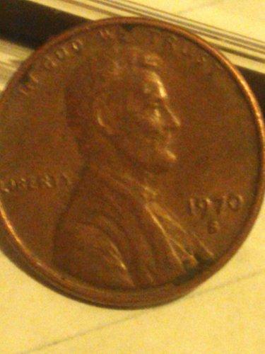 1970 s licoln memorial penny