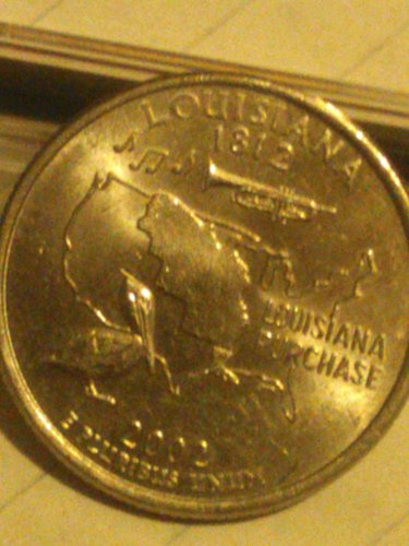 2002 d louisiana quarter