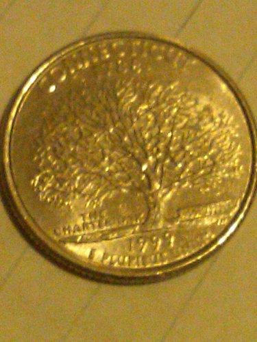 1999 p conneticut quarter