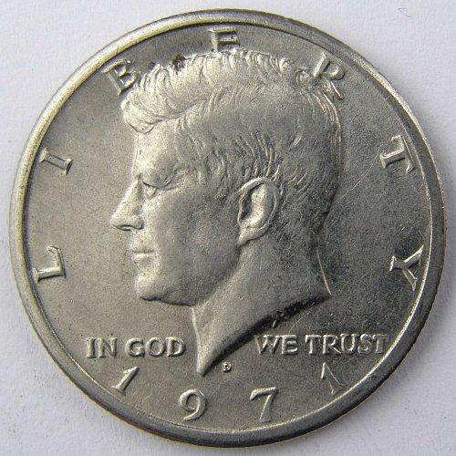 1971 D Kennedy Half Dollar #1