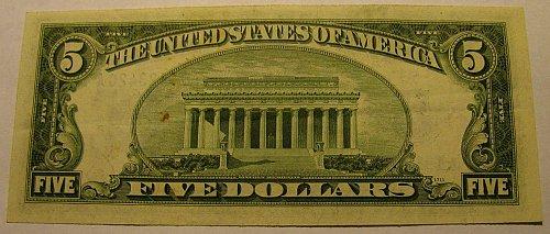"Large US Bill 1934 D Serial 19123420A ""STAR"" Clarke/Snyder FINAL $39.00"
