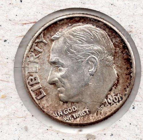 1961d Roosevelt Dime #4