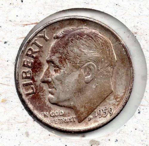 1959d Roosevelt Dime #4