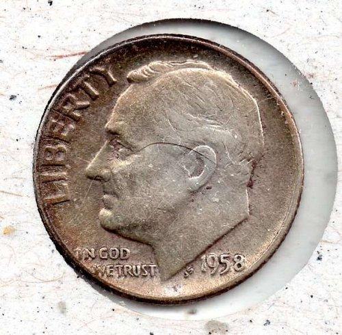 958p Roosevelt Dime #4