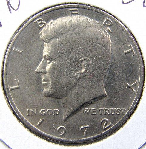 1972 P Kennedy Half Dollar
