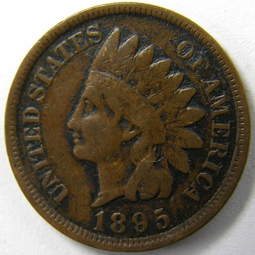 1895 P Indian Head Cent #2