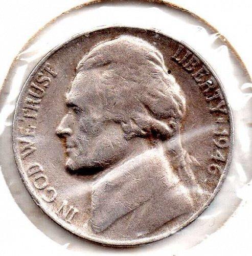 1946d Jefferson Nickel #5