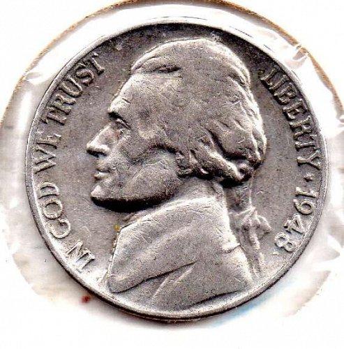 1948p Jefferson Nickel #5