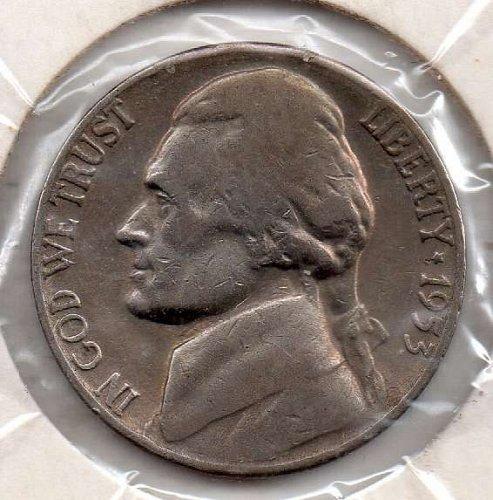 1953s Jefferson Nickel #5