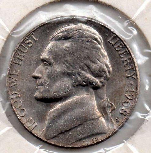 1968s efferson Nickel #5
