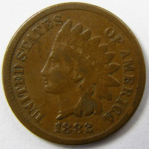 1882 P Indian Head Cent #5