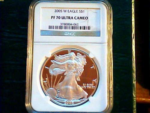 2005 W PROOF PF 70 Ultra Cameo with mint mark-Rare Find!