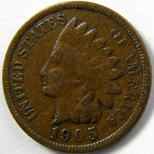 1905 P Indian Head Cent #5