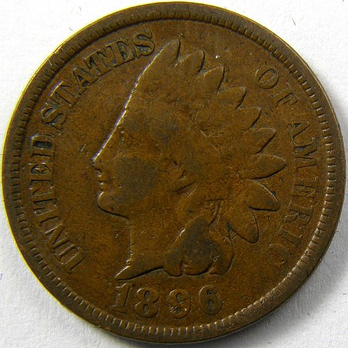 1896 P Indian Head Cent #6