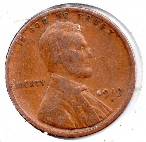 1919s Lincoln Wheat Cwent #3