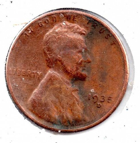 15d Lincoln Wheat Cent #3