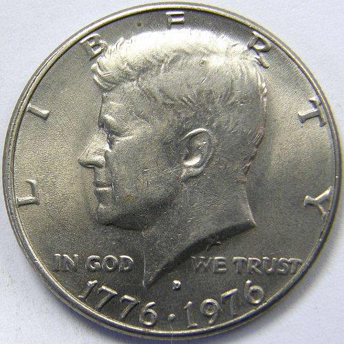 1976 D Kennedy Half Dollar