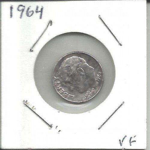 1964 P  ROOSEVELT DIME