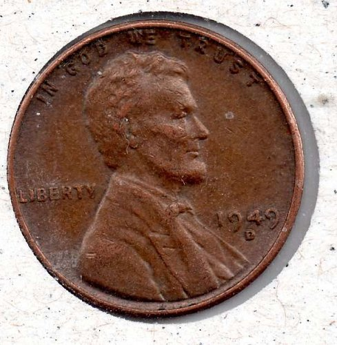 1949d Lincoln Wheat Cent  #3