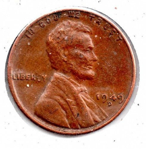 1949d Lincoln Wheat Cent #4