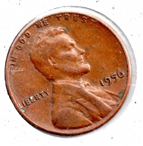 1956p ncoln Wheat Cent #4