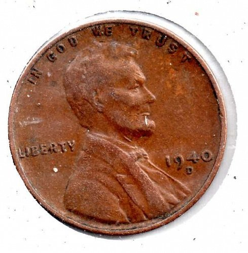 1940d Lincoln Wheat Cent #4