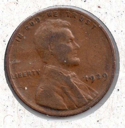 1929p Lincoln Wheat Cent #4