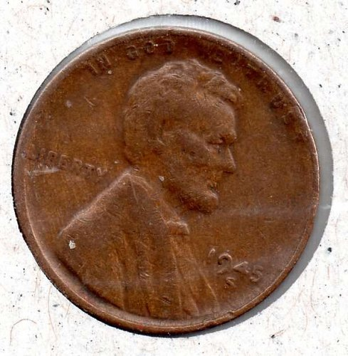 1945s Lincoln Wheat Cent #3