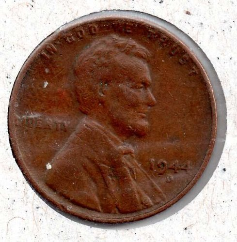 1944d Lincoln Wheat Cent #4