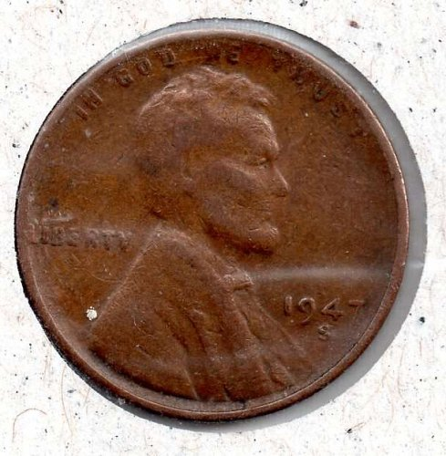 1947s Lincoln Wheat Cent #3