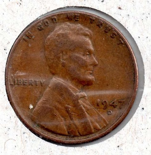 1947d Lincoln Wheat Cent #4