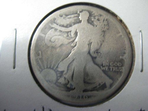 1916 P Walking Liberty--Good condition