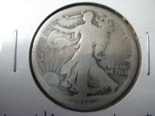 1916 P Walking Liberty--Good condition
