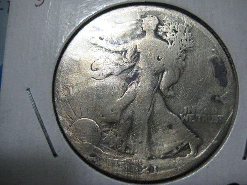 1921 S Walking Liberty Half Dollar