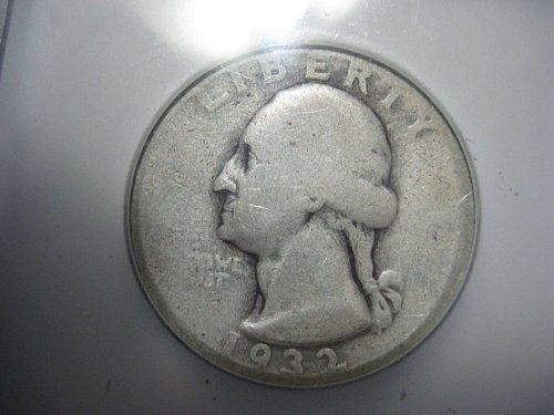 1932 D Washington Quarter