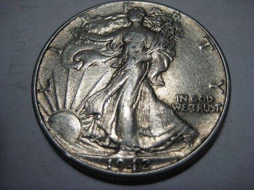 1942 P Walking Liberty Half Dollar